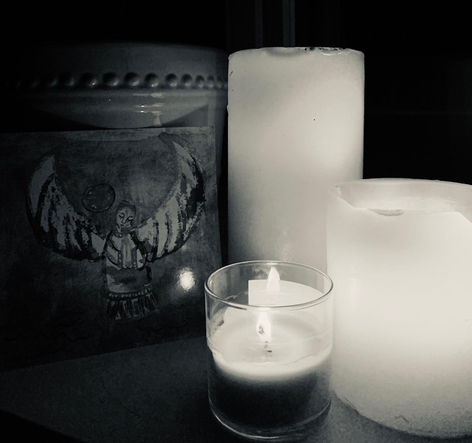 vigil black and white